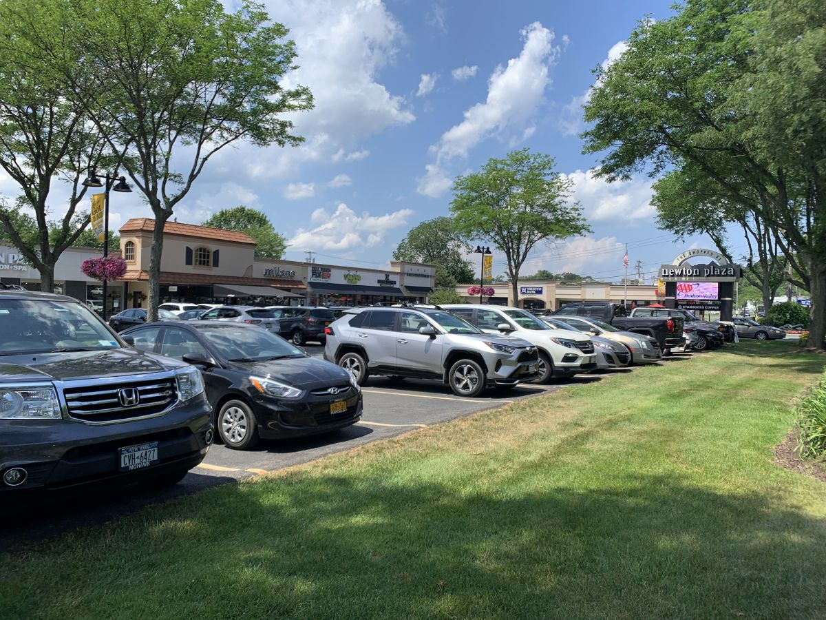 a Photograph of Newton Plaza
